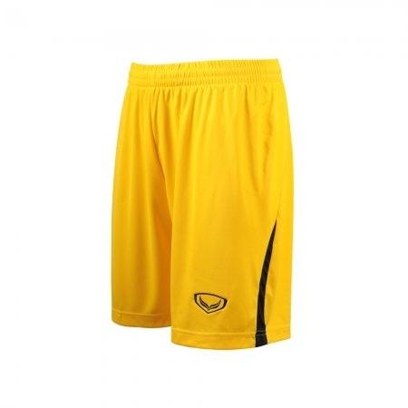 กางเกงฟุตบอลตัดต่อ แกรนด์สปอร์ต (สีเหลือง) รหัส : 001527