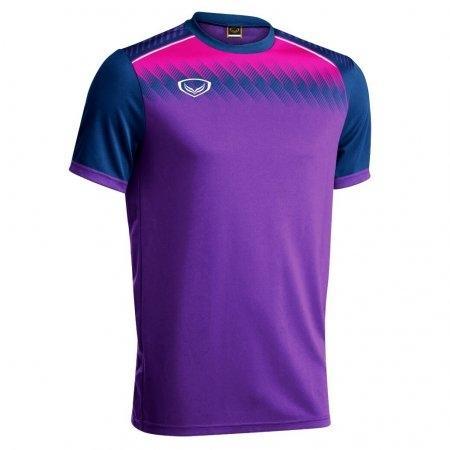 เสื้อกีฬาฟุตบอล แกรนด์สปอร์ต(สีม่วง) รหัส :011456
