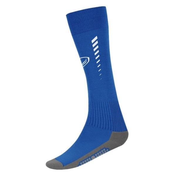 ถุงเท้ากีฬาฟุตบอลทอลาย แกรนด์สปอร์ต (สีน้ำเงิน)รหัสสินค้า : 025129