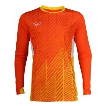 เสื้อประตูฟุตบอล แขนยาว แกรนด์สปอร์ต รหัสสินค้า : 018095 (สีส้ม)