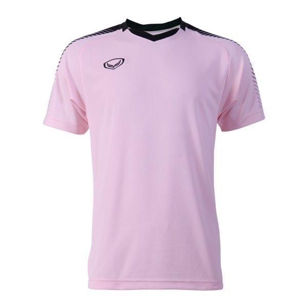 แกรนด์สปอร์ต เสื้อกีฬาฟุตบอล (สีชมพู) รหัส : 011469
