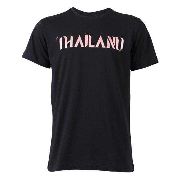 เสื้อคอกลมพิมพ์Thailandรหัส : 023187 (สีดำ)