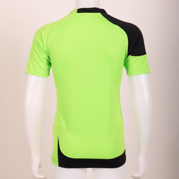 เสื้อประตูฟุตบอล แขนสั้น รหัส :018082 (สีเขียว)