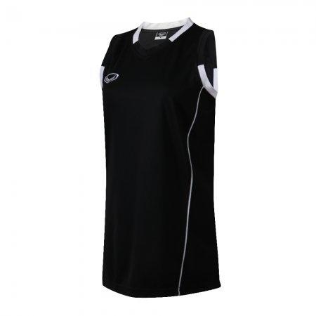 เสื้อบาสเกตบอลแกรนด์สปอร์ตหญิง(สีดำ)รหัส:013153