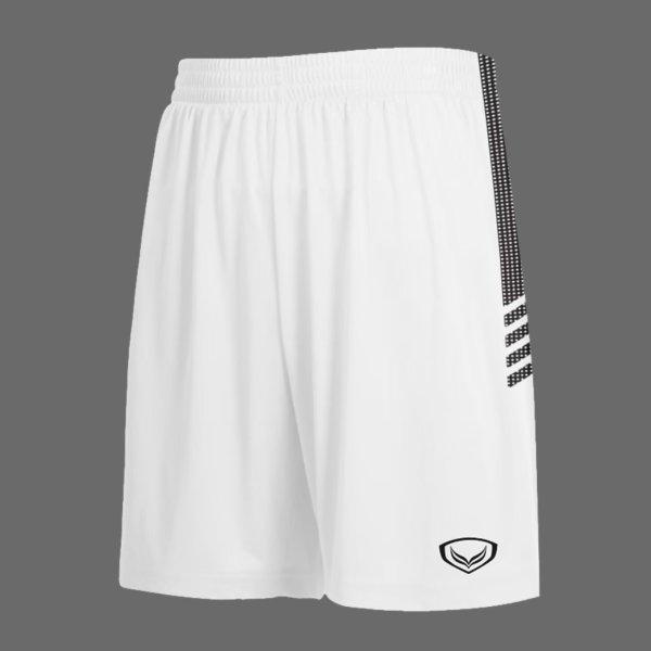 แกรนด์สปอร์ตกางเกงกีฬาฟุตบอล รหัสสินค้า:001465  (สีขาว)