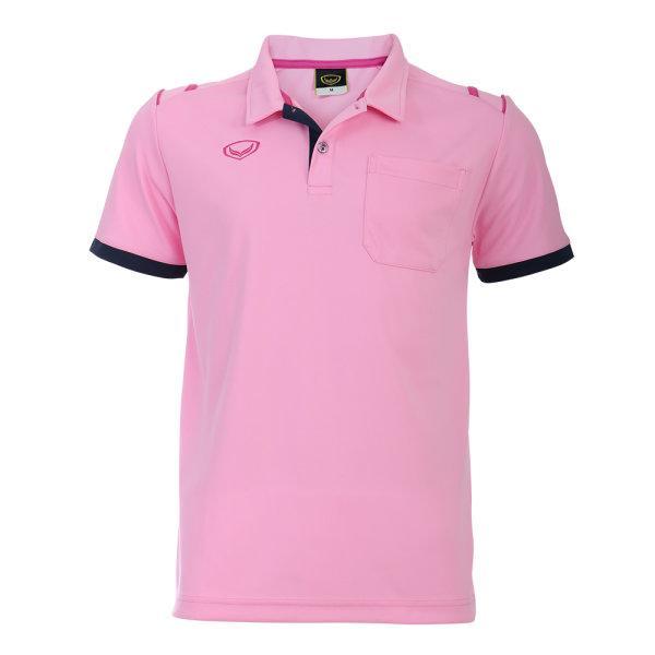 เสื้อโปโลชายแกรนด์สปอร์ต รหัสสินค้า : 012567 (สีชมพู)