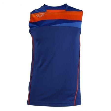 เสื้อฟุตบอลแกรนด์สปอร์ต (สีน้ำเงิน) รหัส:011529