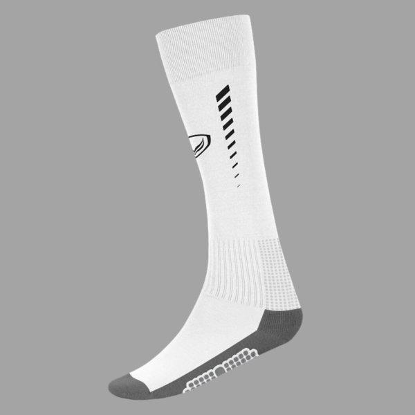 ถุงเท้ากีฬาฟุตบอลทอลาย แกรนด์สปอร์ต (สีขาว)รหัสสินค้า : 025129