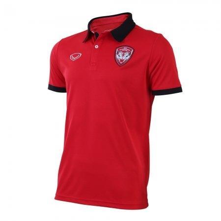 เสื้อโปโลคอปกเมืองทอง 2019 รหัสสินค้า : 040501 (สีแดง)