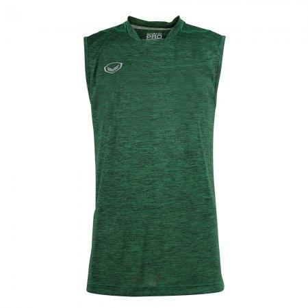 เสื้อกีฬาแขนกุด Grand pro (สีเขียว) รหัส :038295