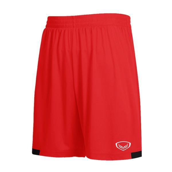 กางเกงกีฬาฟุตบอลตัดต่อ แกรนด์สปอร์ต รหัสสินค้า:001481  (สีแดง)
