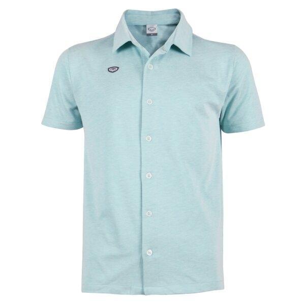 เสื้อเชิ๊ตผ่าหน้าแกรนด์สปอร์ต รหัส : 012247(สีเขียว)