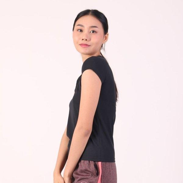 แกรนด์สปอร์ต เสื้อออกกำลังกายผู้หญิง (สีดำ) รหัสสินค้า : 028790
