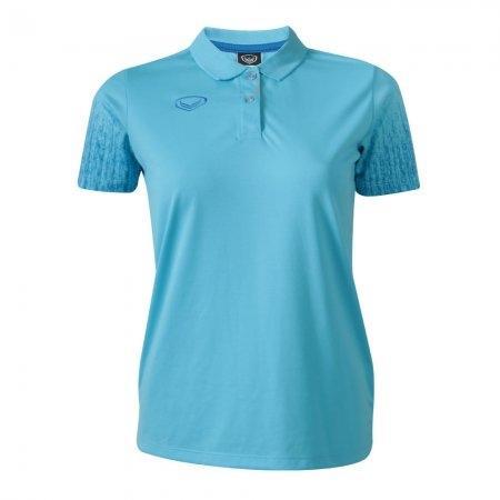 เสื้อโปโลหญิงแกรนด์สปอร์ต(สีฟ้า) รหัส : 012763