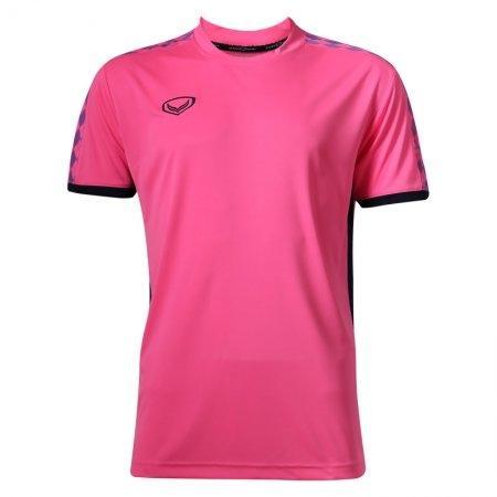 เสื้อฟุตบอลแกรนด์สปอร์ต  (สีชมพู) รหัส:038266