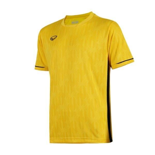 แกรนด์สปอร์ตเสื้อกีฬาฟุตบอลทอลาย  รหัส : 011550 (สีเหลือง)