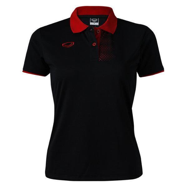 เสื้อคอปกหญิง แกรนด์สปอร์ต (สีดำ) รหัส: 012699