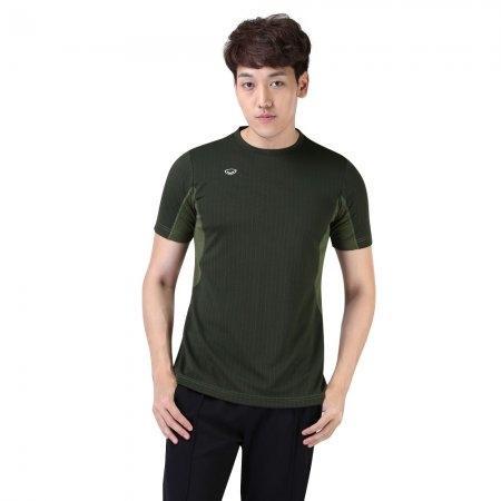เสื้อแอโรบิกคอกลมชาย รหัสสินค้า:028379(สีเขียว)