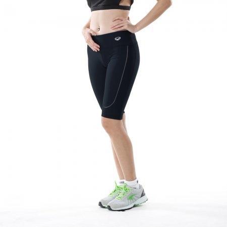 กางเกงออกกำลังกาย แกรนด์สปอร์ต ขา 3 ส่วน (สีดำ) รหัส : 028475