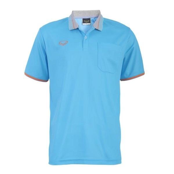 เสื้อโปโลชายสีฟ้า  แกรนด์สปอร์ต รหัส :012568