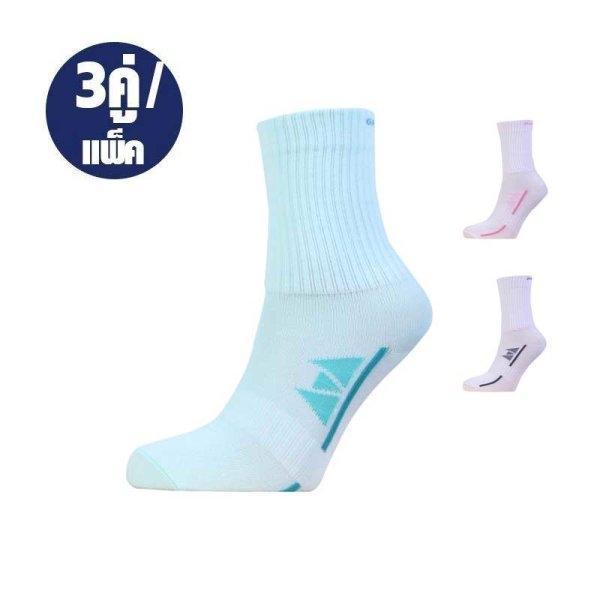 ถุงเท้าลำลองข้อยาวทอลายแกรนด์สปอร์ต (3 คู่)รหัสสินค้า : 025917
