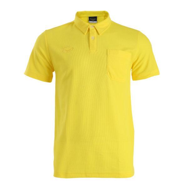 เสื้อโปโลชายสีเหลืองแกรนด์สปอร์ต รหัส: 012237