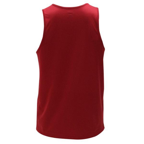 เสื้อวิ่งชายพิมพ์ลายด้านหน้า รหัสสินค้า : 017146 (สีแดง)