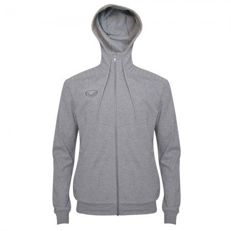 เสื้อวอร์มมีฮู้ด(สีเทา) รหัส : 023159