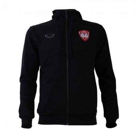 เสื้อวอร์มสโมสรเมืองทอง 2019 รหัสสินค้า : 040504