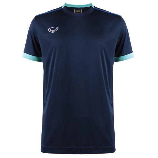เสื้อกีฬาฟุตบอลตัดต่อ แกรนด์สปอร์ต  รหัสสินค้า : 011541 (สีกรม)