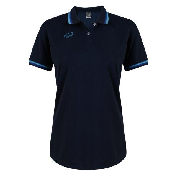 เสื้อโปโลหญิงแกรนด์สปอร์ต รหัส : 012788 (สีกรม)