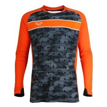 เสื้อกีฬา ประตูฟุตบอล แขนยาว แกรนด์สปอร์ต รหัสสินค้า : 018092 (สีดำ)