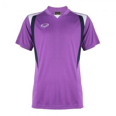 เสื้อวอลเลย์บอลตัดต่อชาย แกรนด์สปอร์ต (สีม่วง) รหัส : 014242