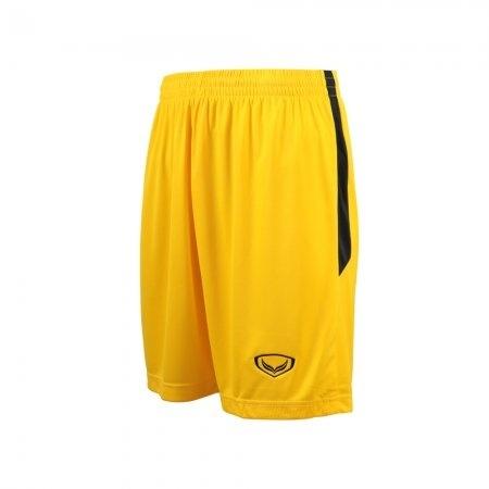 กางเกงฟุตบอลตัดต่อ แกรนด์สปอร์ต (สีเหลือง) รหัส : 001529
