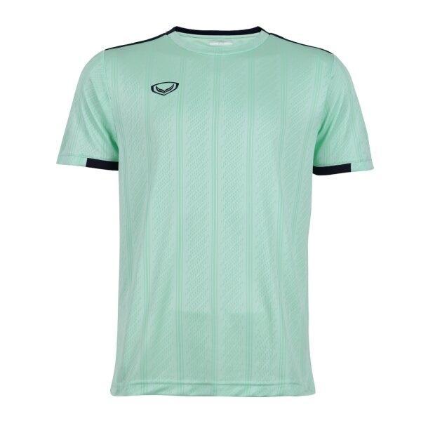 เสื้อกีฬาฟุตบอลทอลาย แกรนด์สปอร์ต รหัส : 011556 (สีเขียว)
