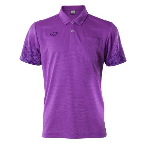 เสื้อโปโลชาย แกรนด์สปอร์ต รหัส : 012584 (สีม่วง)