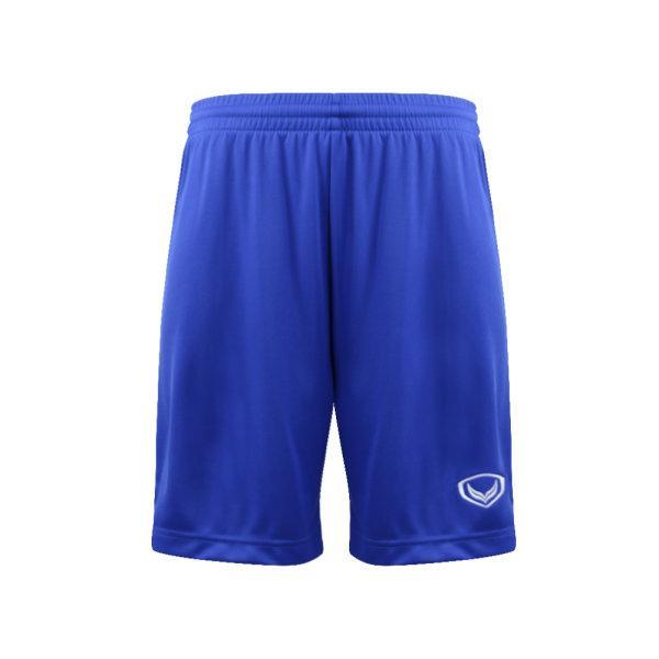 กางเกงกีฬาฟุตบอลตัดต่อ แกรนด์สปอร์ต รหัสสินค้า:001456  (สีน้ำเงิน)