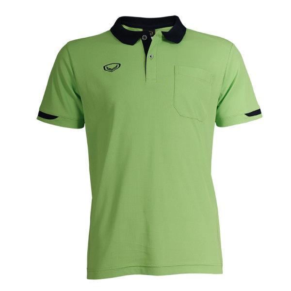 เสื้อโปโลชายสีม่วงแกรนด์สปอร์ต รหัส :012553 (สีเขียว)