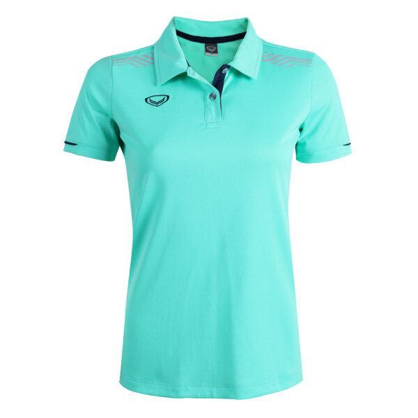 เสื้อโปโลหญิงแกรนด์สปอร์ต รหัสสินค้า : 012781 (สีเขียว)