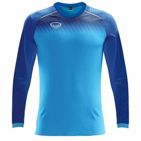 เสื้อฟุตบอลแกรนด์สปอร์ตแขนยาว (สีฟ้า) รหัส :011459