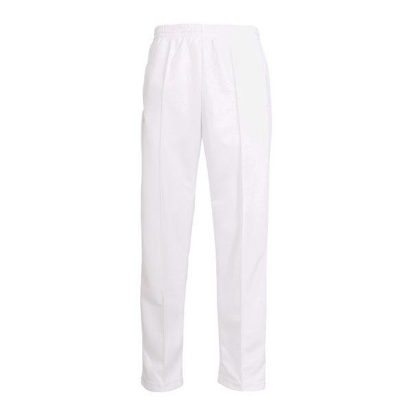 กางเกงวอร์มสีล้วนขาปล่อย (สีขาว) รหัส : 006183