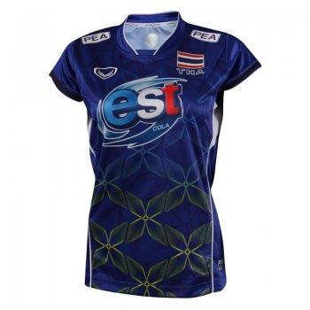 แกรนด์สปอร์ต เสื้อกีฬาวอลเลย์บอลทีมชาติ2017(สีน้ำเงิน) รหัส:014225