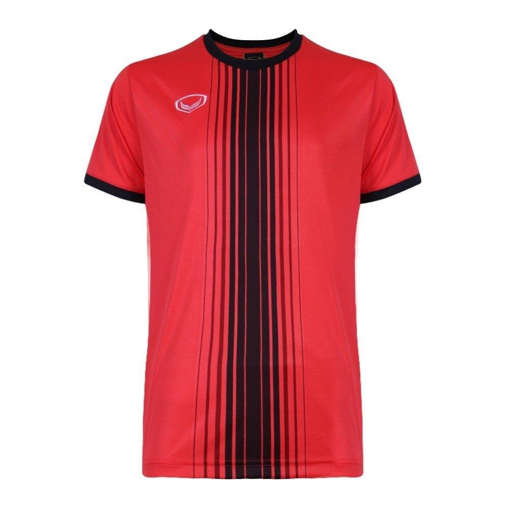 แกรนด์สปอร์ตเสื้อกีฬาฟุตบอล รหัสสินค้า : 011464 (สีแดง)