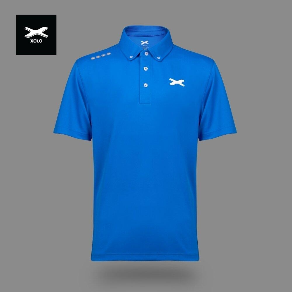 XOLO MORNING SUNLIGHT POLO SHIRT ( Anti-bacterial ) CODE : 040029 (ฺBlue)