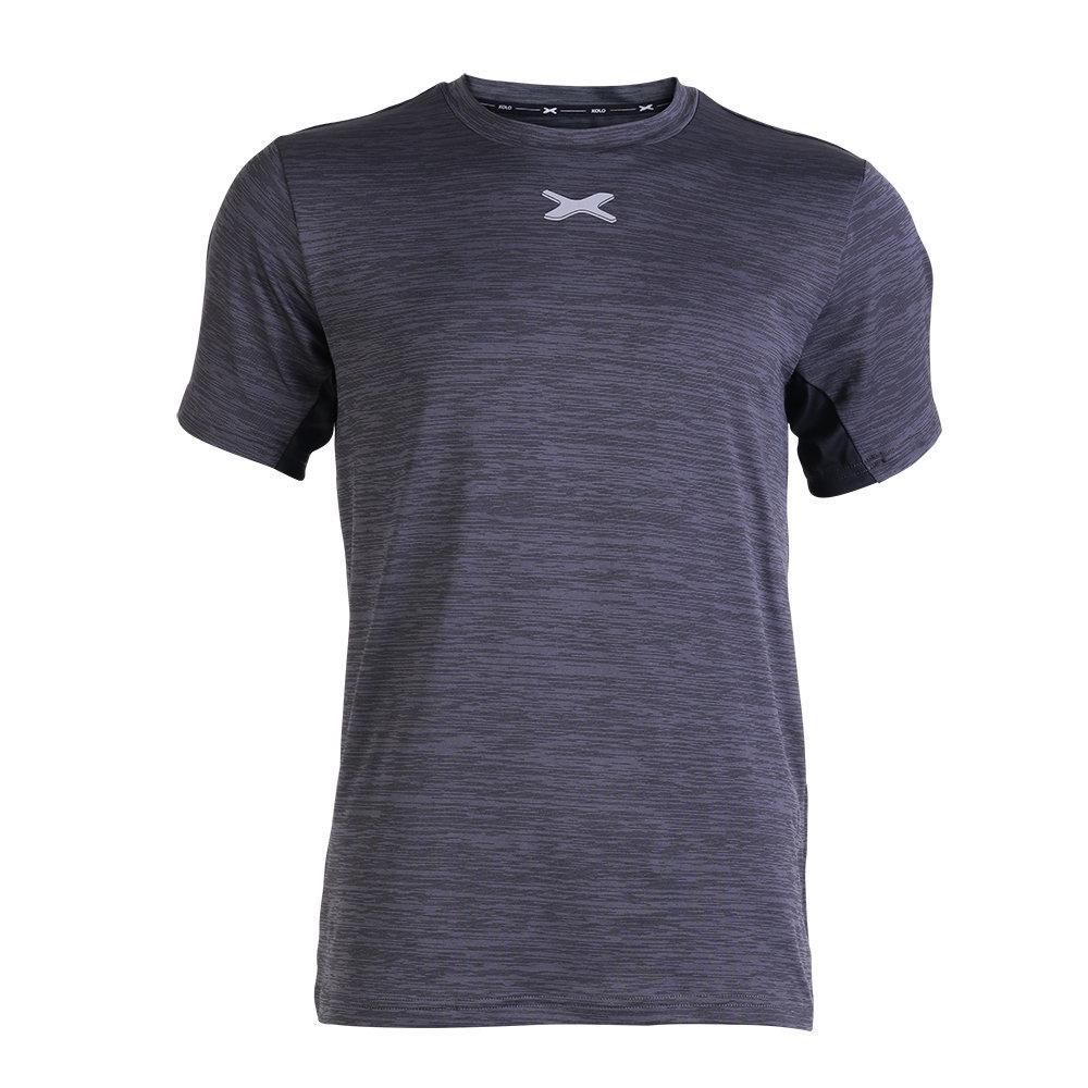 แกรนด์สปอร์ต เสื้อออกกำลังกายผู้ชาย XOLO รหัส: 040015(สีเทา)
