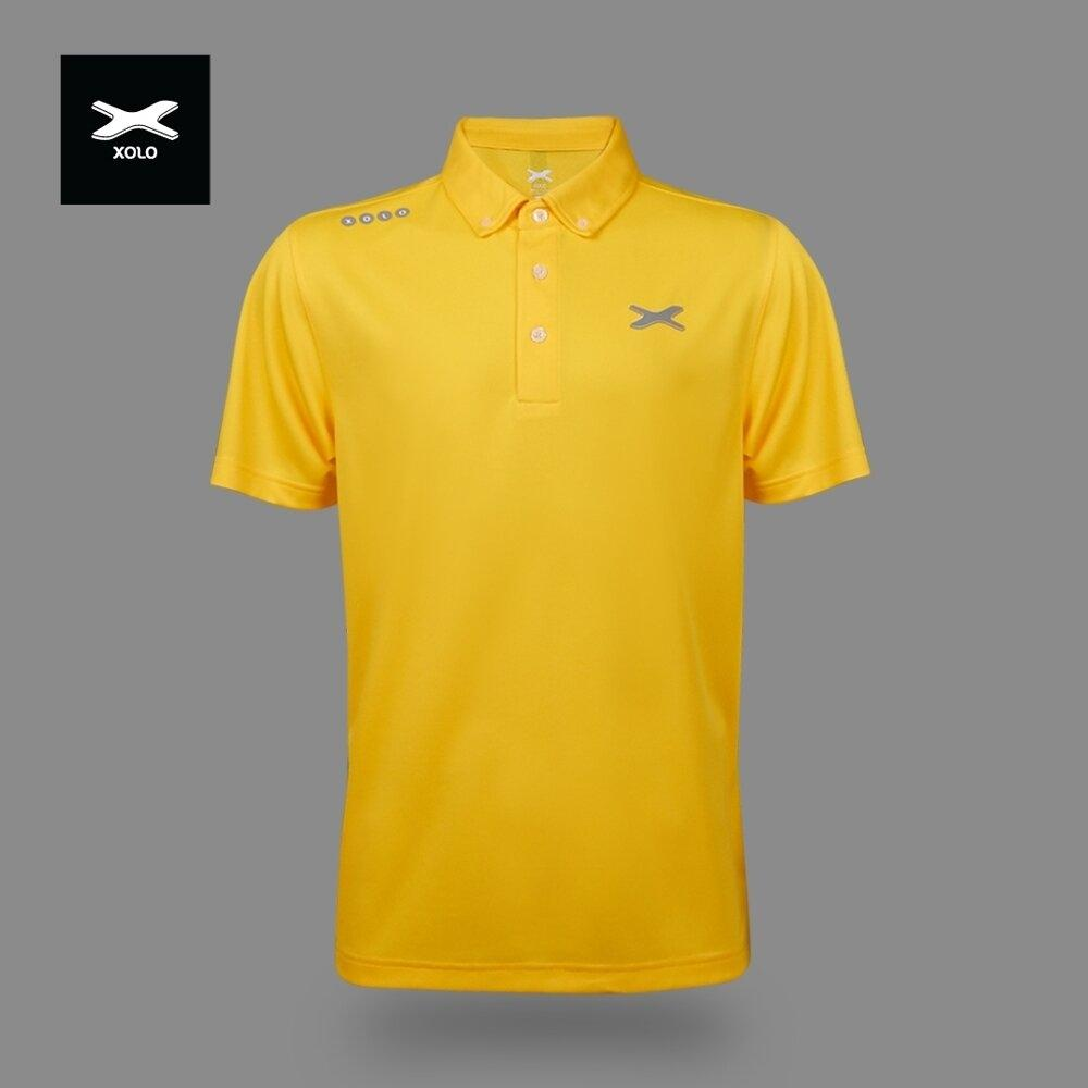 XOLO MORNING SUNLIGHT POLO SHIRT ( Anti-bacterial ) CODE : 040029 (ฺYellow)