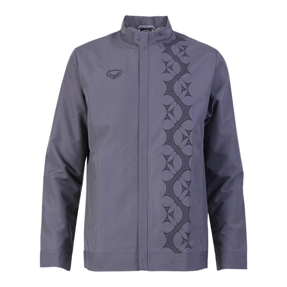 เสื้อแจ็คเก็ตชาย แกรนด์สปอร์ต รหัส : 020651 (สีเทา)