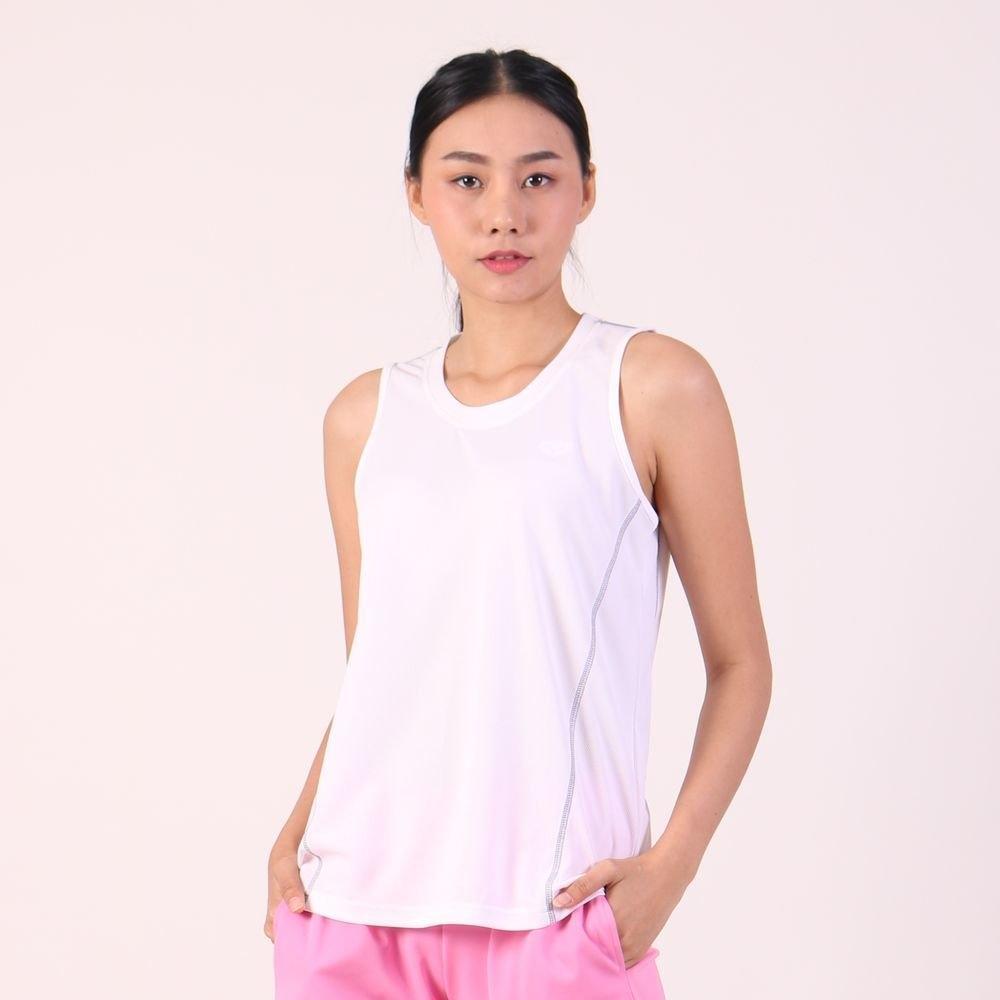 แกรนด์สปอร์ต เสื้อออกกำลังกายผู้หญิงแขนกุด (สีขาว) รหัสสินค้า : 028789