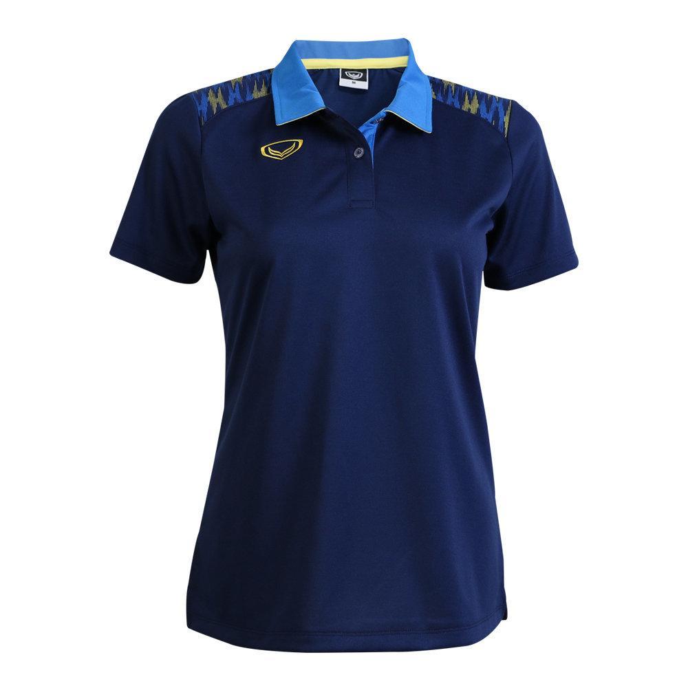 เสื้อโปโลหญิงแกรนด์สปอร์ต รหัส : 012776 (สีกรม)