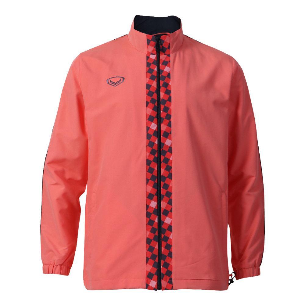 เสื้อแทร็คสูทแกรนด์สปอร์ต รหัสสินค้า : 020208 (สีโอรส)